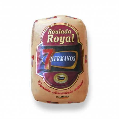 Roulada royal 7 Hermanos 0,100 kg.